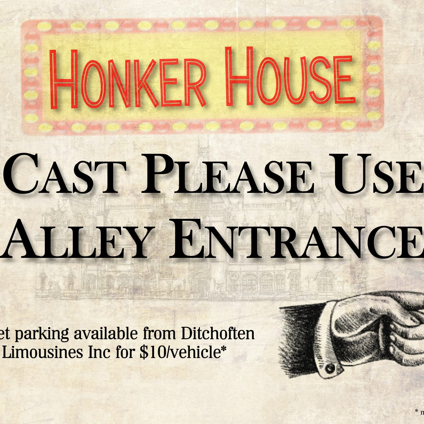 Rehearsals are under way for the Honker House Family Reunion!