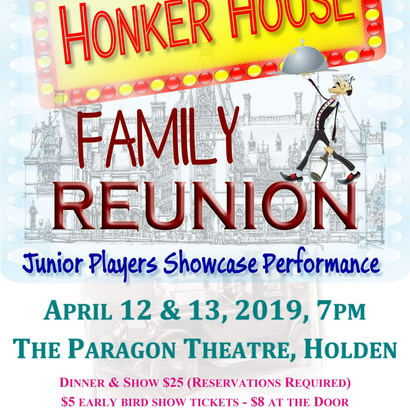 The 2019 Junior Players Showcase & Honker House Family Reunion is this April 12th & 13th!