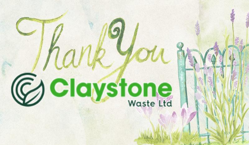 Claystone (BMS) Sponsorship